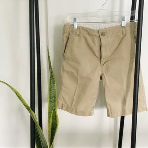 Gap kids khaki shorts
